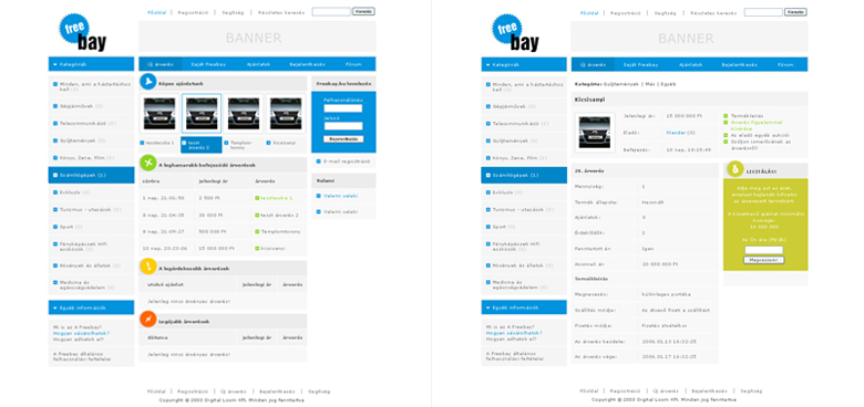 Freebay Web Design